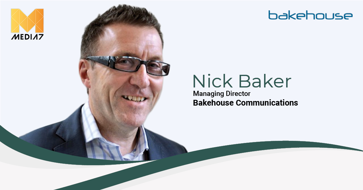 Q&A with Nick Baker, Managing Director at Bakehouse Communications
