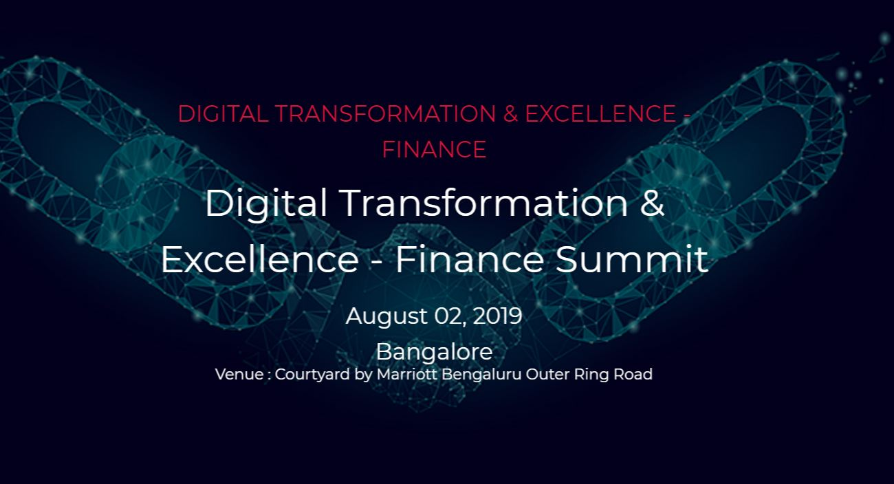 Digital Transformation & Excellence - Finance Summit