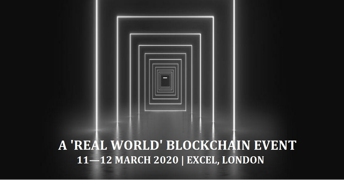 A 'REAL WORLD' BLOCKCHAIN EVENT