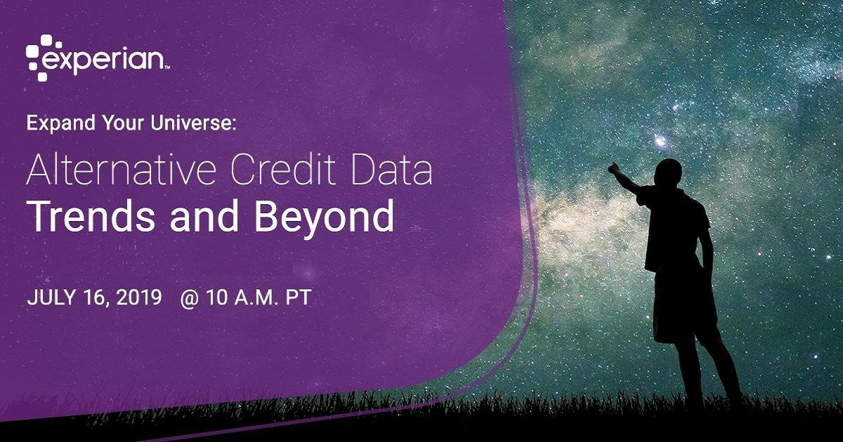 Alternative Credit Data Trends and Beyond