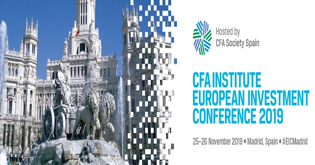 CFA Institute European Investment Conference 2019