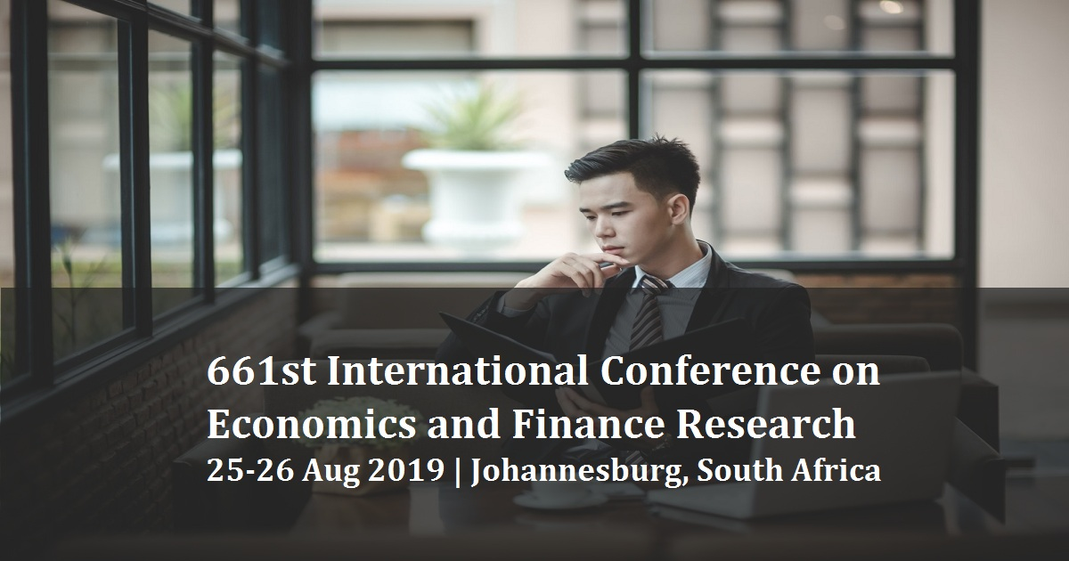 661st International Conference on Economics and Finance Research