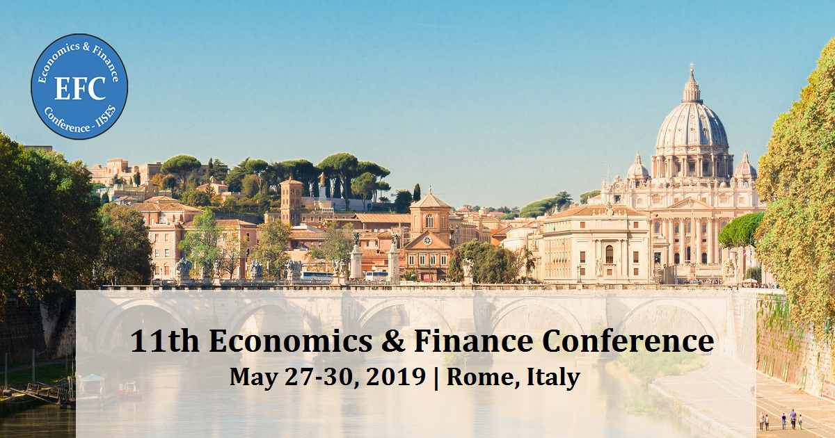 11th Economics & Finance Conference