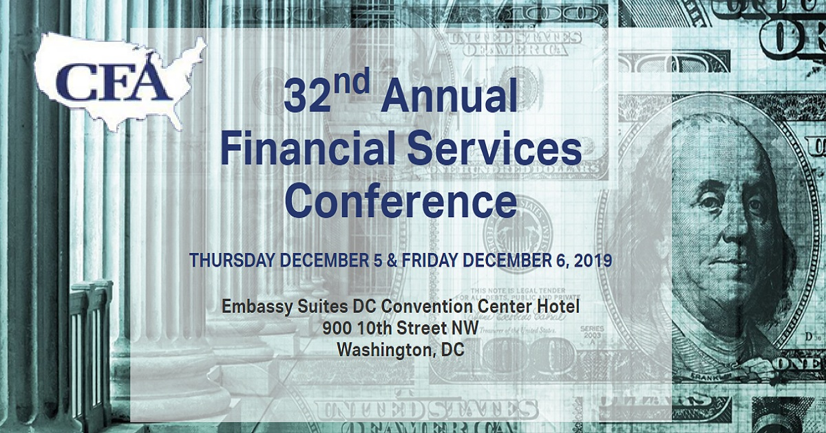 32nd Annual Financial Services Conference