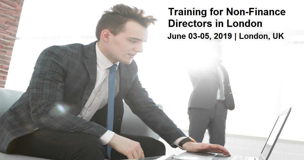 Training for Non-Finance Directors in London