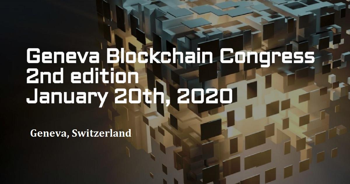Geneva Blockchain Congress 2nd edition