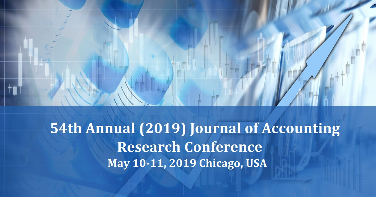 54th Annual (2019) Journal of Accounting Research Conference