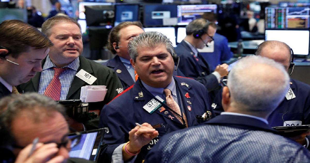 Facebook rattles Nasdaq, but trade optimism boosts Dow