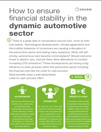 HOW TO ENSURE FINANCIAL STABILITY IN THE DYNAMIC AUTOMOTIVE SECTOR