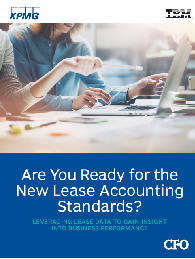 ARE YOU READY FOR THE NEW LEASE ACCOUNTING STANDARDS?