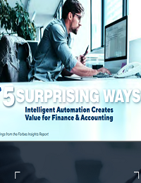 5 SURPRISING WAYS INTELLIGENT AUTOMATION CREATES VALUE FOR FINANCE & ACCOUNTING